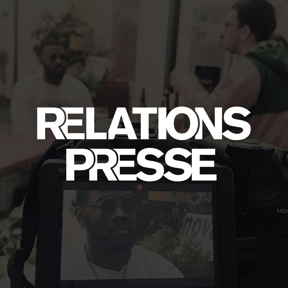 MPC Prod - Relation Presse