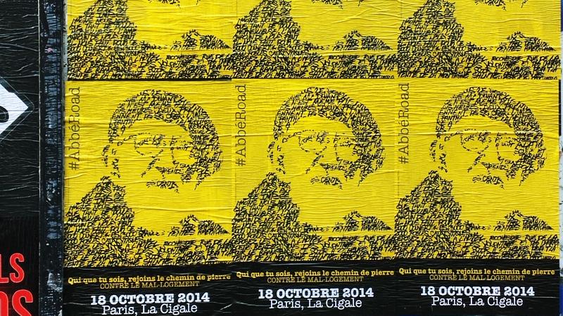 Affichage Libre Abbé Road