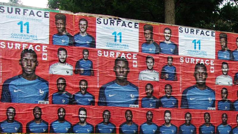 affichage libre surface