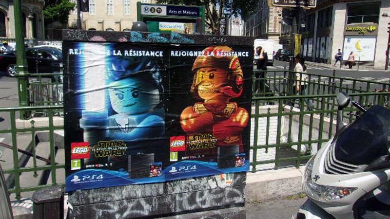 AFFICHAGE LIBRE LEGO STAR WARS
