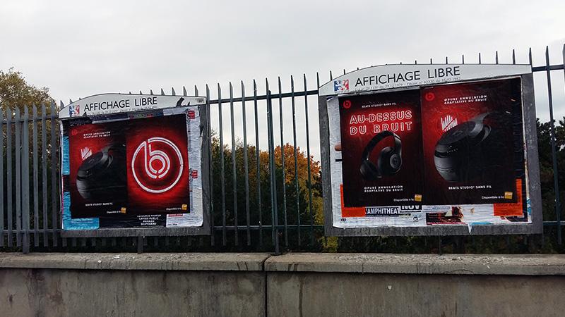 AFFICHAGE LIBRE beats